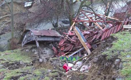 alunecare de teren Gorj
