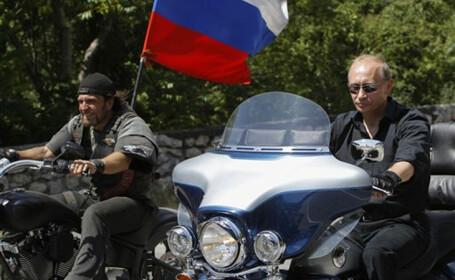 Reportaj CNN cu grupul de motociclisti \
