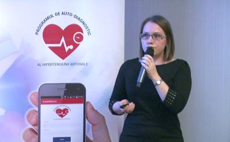 In Romania, 60% din decesele anuale sunt provocate de bolile cardiovasculare. Aplicatia care iti spune cand sa mergi la medic
