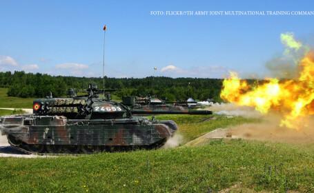 exercitiu militar Combined Resolve II 2014, militari romani in germania