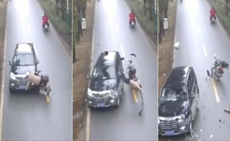 motociclist accident