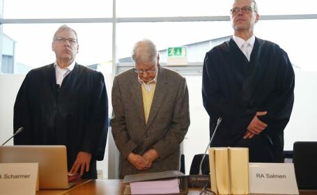 A inceput procesul lui Reinhold Hanning, fost gardian la Auschwitz, acuzat de complicitate la uciderea a 170.000 de oameni