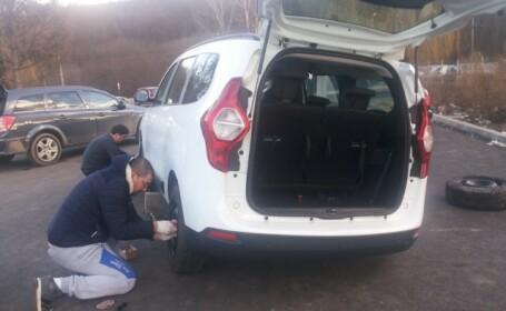 Un iesean si-a scos masina la vanzare si a dus-o intr-o parcare amenajata. Cum a gasit-o a doua zi dimineata. FOTO