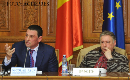 Deputatii Nicolae Paun si Madalin Voicu