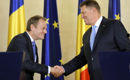 Klaus Iohannis, Donald Tusk