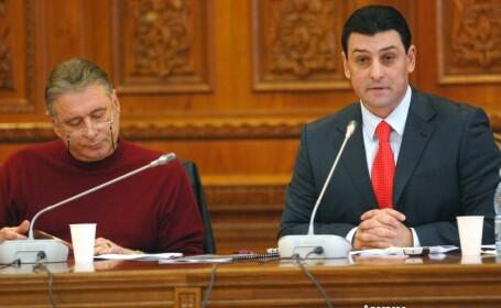 Madalin Voicu si Nicolae Paun