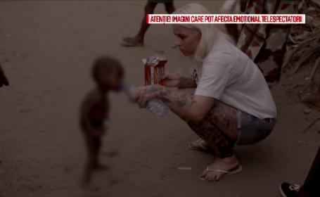 A fost salvat de o daneza, dupa ce fusese alungat de acasa si lasat sa moara de foame. Cum arata acum copilul din Nigeria