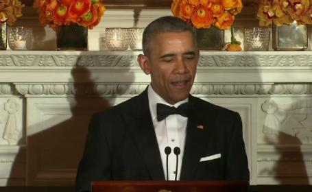 Barack Obama cina cu guvernatorii