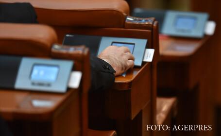 Sistemul de vot electronic din Camera Deputatilor.