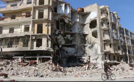 Primul armistitiu din Siria a intrat in vigoare. Damascul a fost bombardat intens de rusi cu doar cateva ore inainte