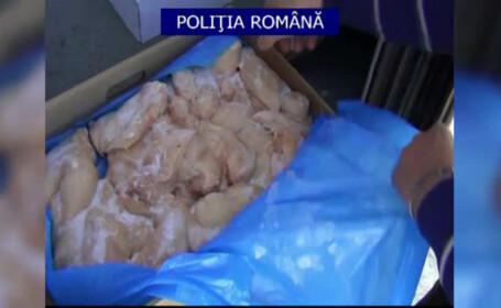 politie, carne expirata