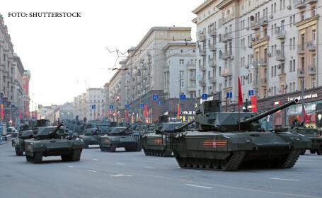 parada militara in Rusia de Ziua Victoriei, tancuri T-14