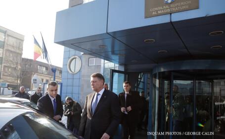 Sesizarea CSM asupra ordonantei pe justitie a fost inregistrata la CCR. Iohannis i-a cerut premierului sa o abroge