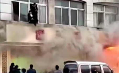 18 morti si 18 raniti, in urma incendiului dintr-un salon de masaj, in China. Cauza este necunoscuta