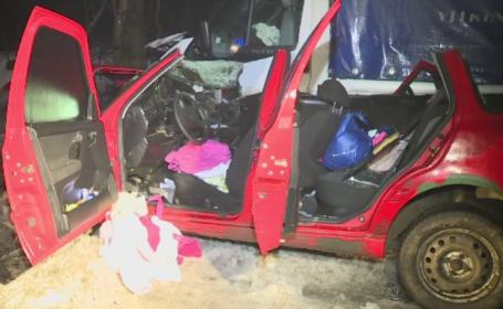 Accident grav langa Bucuresti. O femeie a murit, iar doua fetite sunt grav ranite