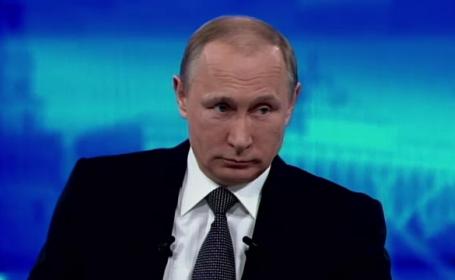 Vladimir Putin acuza ca aliatii NATO incearca sa atraga intr-o confruntare Rusia: \