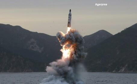 Coreea de Nord a lansat mai multe rachete cu rază scurtă de acţiune spre Marea Japoniei