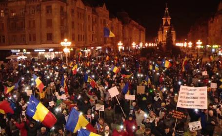 protest Timisoara duminica