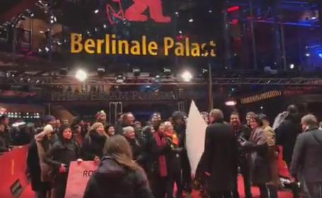 protestul romanilor la Berlinala