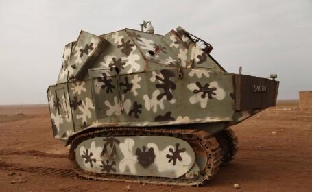 tanc pitic al rebelilor sirieni
