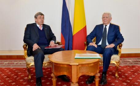 Melescanu s-a intalnit cu ambasadorul rus, ce considera OUG 13 \