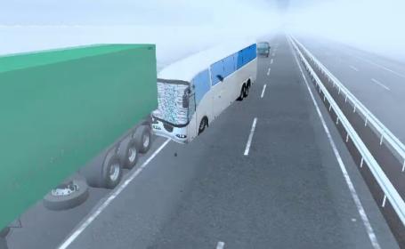 animatie grafica, accident Ungaria