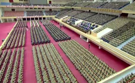 Joi s-au implinit 75 de ani de la nasterea fostului lider Kim Jong-il. Cum l-au omagiat nord-coreenii