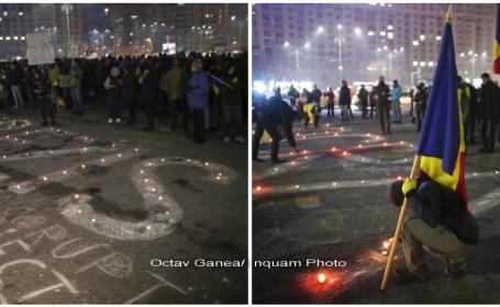 proteste, piata victoriei - inquam