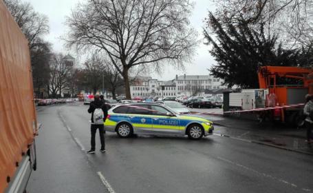 Alerta falsa la o scoala din Menden, Germania. Operatiune de amploare a politiei dupa informatii despre un atacator inarmat