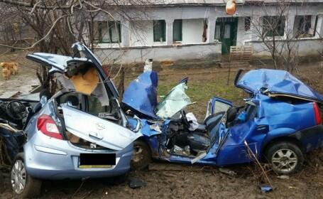Accident grav pe DN1, intre Bucuresti si Ploiesti. Una dintre victime a murit inainte ca SMURD sa ajunga la fata locului