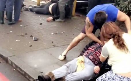 O masina a intrat in multime in Londra, ranind cel putin 5 persoane. MAE a confirmat ca un roman se afla in stare critica