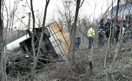 accident feroviar Balota