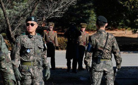 politisti Coreea de Nord