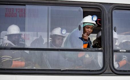 Cei 955 de mineri blocați în subteran, în Africa de Sud, au fost salvați