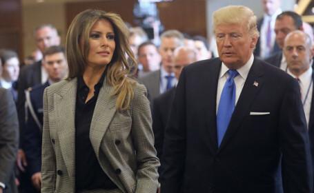 Donald Trump i-a greșit numele soției sale, într-un mesaj pe Twitter. FOTO