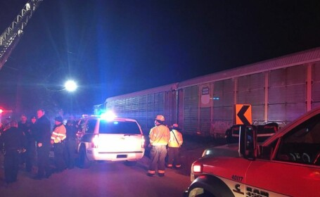 Coliziune violentă între două trenuri, în SUA. Doi morți și peste 50 de răniți