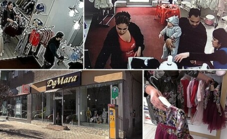 Magazin din Arad, prădat de două ori de hoți. Au folosit aceeași metodă, fără să fie prinși