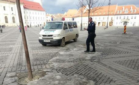 duba de politie sibiu