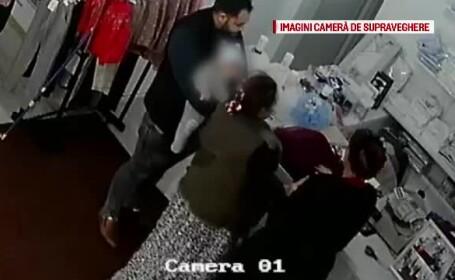 Magazin din Arad, jefuit cu ajutorul unui bebeluş. \