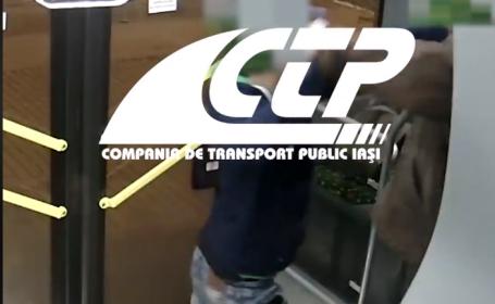 Video cu momentul în care un adolescent a fost înjunghiat într-un autobuz din Iași