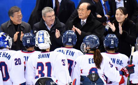 Echipa unită de hochei feminin a Coreei a pierdut primul meci oficial la Jocurile Olimpice