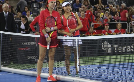 Sorana Cîrstea (38 WTA) o intalneste pe Carol Zhao (138 WTA) in primul tur al Grupei Mondiale II la Fed Cup