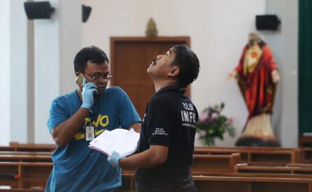 Atac într-o biserică din Yogyakarta