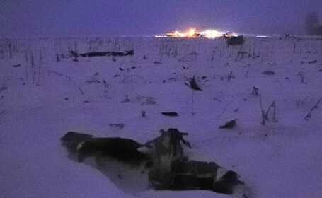 accident aerian Rusia