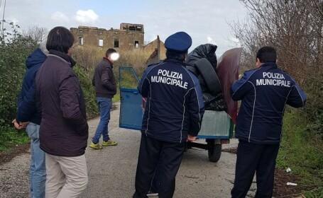 Doi români din Italia, opriţi înainte să producă un dezastru ecologic. Ce duceau în camionetă
