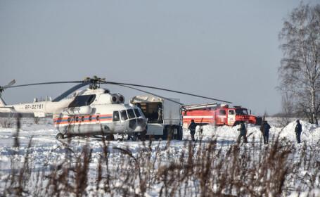 Avion prabusit in Rusia