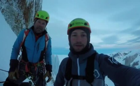 Doi români au cucerit, în premieră pentru țara noastră, vârful Cerro Torre din Patagonia