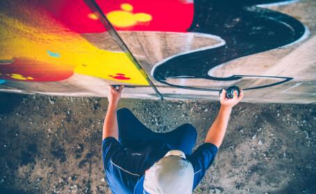 Despăgubirile primite de mai mulţi artişti graffiti, după ce operele lor au fost distruse