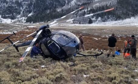 Un elicopter s-a prăbuşit în Rusia. Șase oameni au murit. VIDEO
