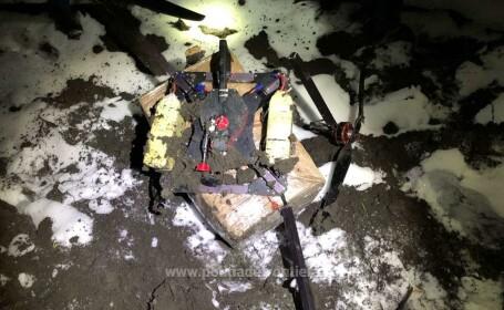 contrabanda de tigari cu drona